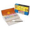 Sennelier Artists Watercolor Sets - Travel Clam Shell Box 14 x Half Pan