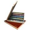 Sennelier Artists Watercolor Sets - Wood Box 98 x 10ml