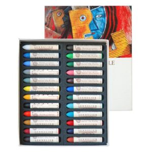 Sennelier Oil Pastel Sets - Assorted Set of 24