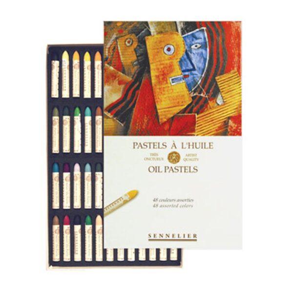Sennelier Oil Pastel Sets - Assorted Set of 48