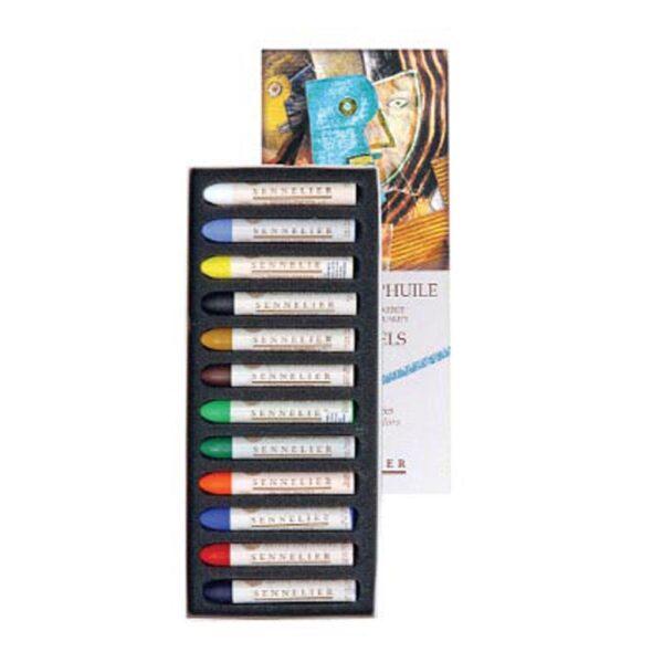 Sennelier Oil Pastel Sets - Introductory Set of 12