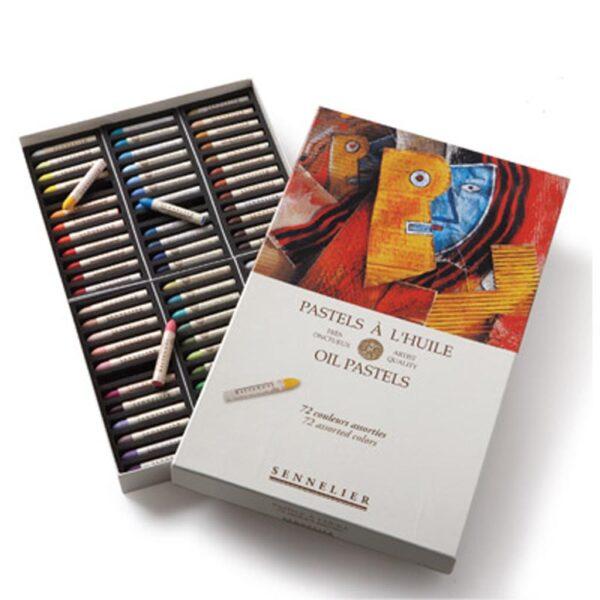 Sennelier Oil Pastel Sets - Assorted Set of 72