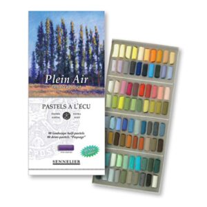 Sennelier Half Stick Soft Pastel Sets - Plein Air Set of 80