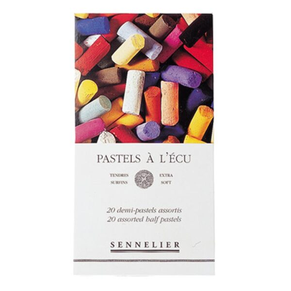 Sennelier Half Stick Soft Pastel Sets - Assorted Set of 20