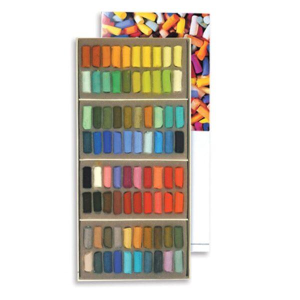 Sennelier Half Stick Soft Pastel Sets - Assorted Set of 80