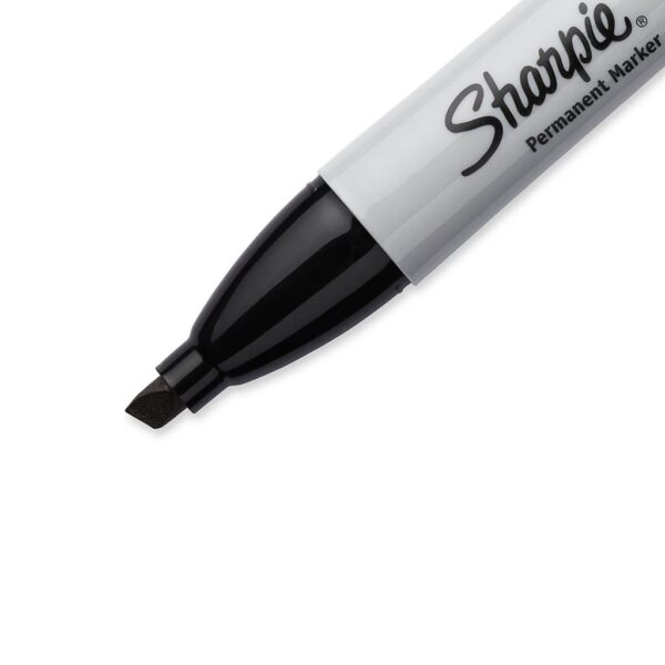 Sharpie Marker. Chisel detail