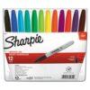 Sharpie Marker Sets - Assorted Fine Set of 12
