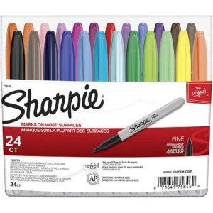 Sharpie Marker Sets - Assorted Fine Set of 24