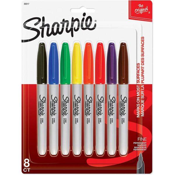 Sharpie Marker Sets - Assorted Fine Set of 8