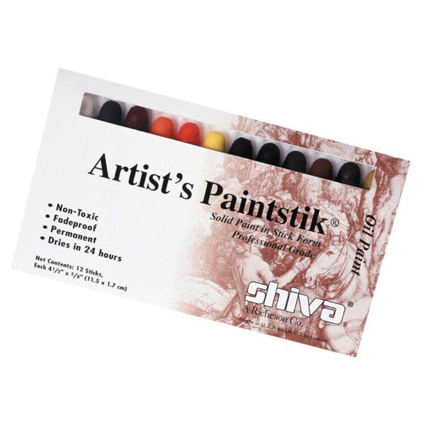 Richeson Shiva Artist Painstiks - Professional Set of 12