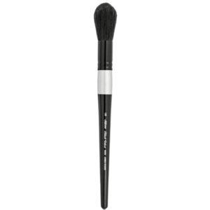 Silver Brush Black Velvet Brushes - Jumbo Round Large