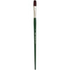 Silver Brush Ruby Satin Synthetic Brushes - Flat Sz 12