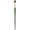 Silver Brush Ruby Satin Synthetic Brushes - Filbert Sz 12