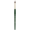 Silver Brush Ruby Satin Synthetic Brushes - Pointed Triangle Medium