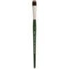 Silver Brush Ruby Satin Synthetic Brushes - Filbert Grass Comb Sz 2 in