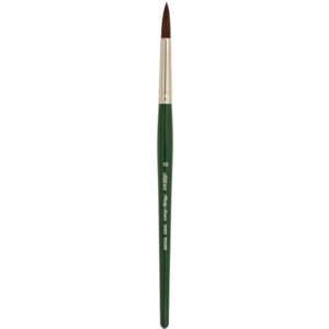 Silver Brush Ruby Satin Synthetic Brushes - Round Sz 10