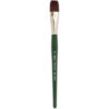 Silver Brush Ruby Satin Synthetic Brushes - Bright Sz 12