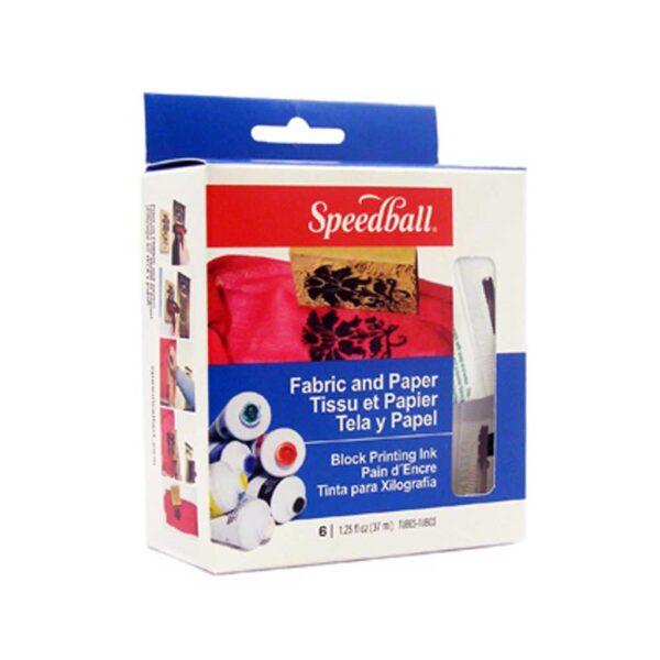 Speedball Block Printing Kit Starter 6 Colors