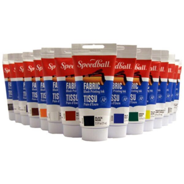 Speedball Block Printing Ink Fabric