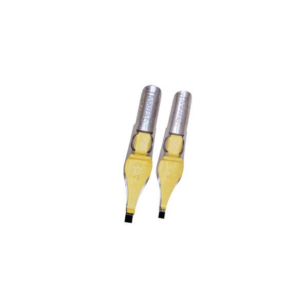 Speedball A Series Pen Nibs - A2/A3 Square 2 Per Card