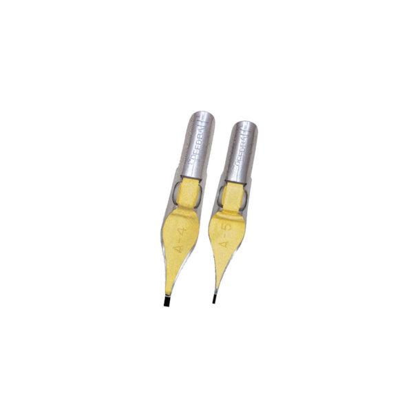 Speedball A Series Pen Nibs - A4/A5 Square 2 Per Card