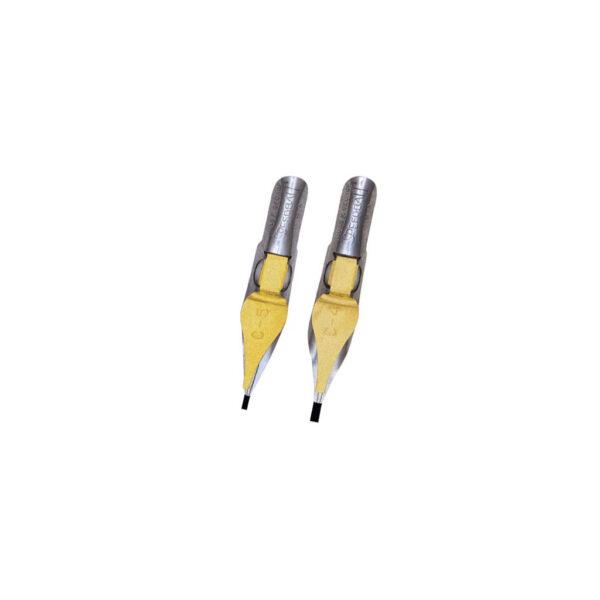 Speedball C Series Pen Nibs - C4/C5 Flat 2 Per Card