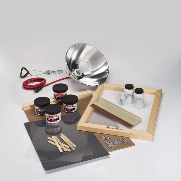 Speedball Screen Printing Kit Advanced All In One Content