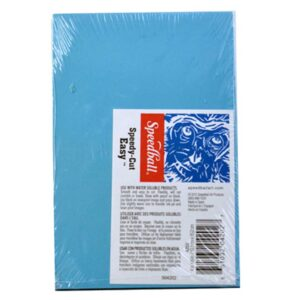 Speedball Speedy Easy Cut Blue 4x6