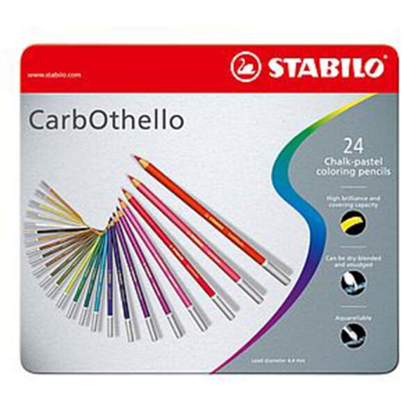 Stabilo Carbothello Pastel Pencil Set of 24