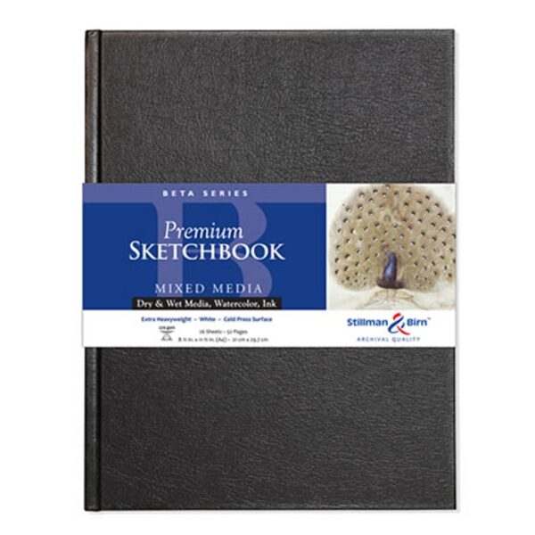 Stillman and Birn Beta Premium Sketchbooks - Hardcover White 5.5 x 8.5in 270gsm (180lb)