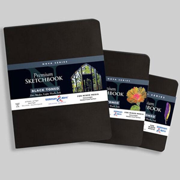 Stillman and Birn Nova Trio Premium Sketchbooks