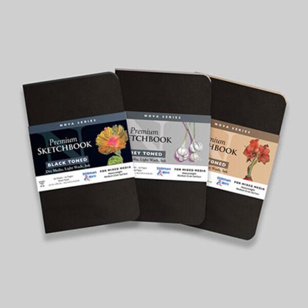 Stillman and Birn Nova Toned Paper Sketchbooks