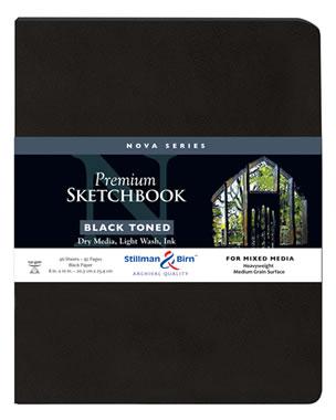 Stillman and Birn Nova Trio Premium Sketchbooks - Softcover Assorted 7.5 x 7.5in 150gsm (100lb)