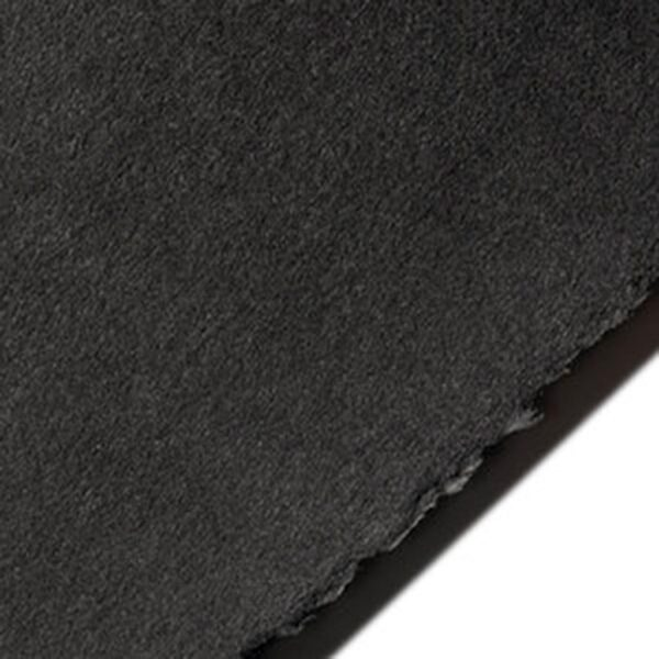 Legion Stonehenge Papers - Black 22 x 30 in 2 Deckles 250gsm (90lb)