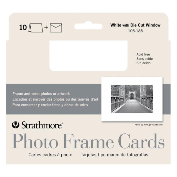 Strathmore Photo Cards - Photo Frame Pack of 10 5 x 7 in