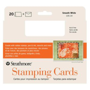 Strathmore Stamping Cards - Pack of 20 5 x 7 in