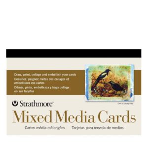 Strathmore Post Cards - Mixed Media Pack of 15 5 x 7 in