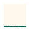 Strathmore Announcement Cards - White/Emerald Deckle Pack of 10 3.5 x 5 in