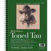 Strathmore 400 Series Toned Sketch Paper - Tan 9 x 12 in 118gsm (80lb)