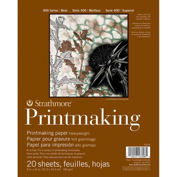 Strathmore 400 Series Heavyweight Printmaking - 8 x 10 in Medium Surface 280gsm (104lb)