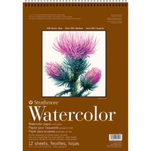 Strathmore 400 Series Watercolor Pads - 11 x 15 in Cold Press 300gsm (140lb)