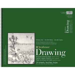 Strathmore 400 Series Recycled Drawing - 14 x 17 in Medium Surface 130gsm (80lb)