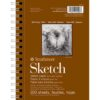 Strathmore 400 Series Sketch Pads  - 5.5 x 8.5 in Fine Surface 89gsm (60lb)