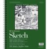 Strathmore 400 Series Recycled Sketch Pads - 11 x 14 in Fine Surface 89gsm (60lb)