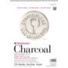 Strathmore 500 Series Charcoal Pads - White 12 x 18 in 95gsm (64lb)