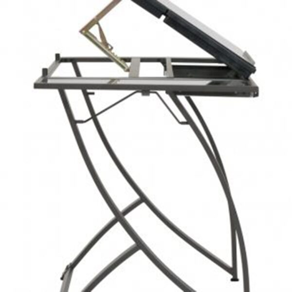 Studio Designs Futura Luxe Table Pewter Side View