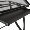 Studio Designs Futura Luxe Table Pewter Drawer