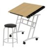 Studio Designs Craft Center Table with Stool