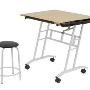 Studio Designs Craft Center Table Angle View
