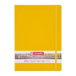 Talens Art Creation Sketch Books - Yellow 140g/90lbs 8.3 x 11.7in (A4)